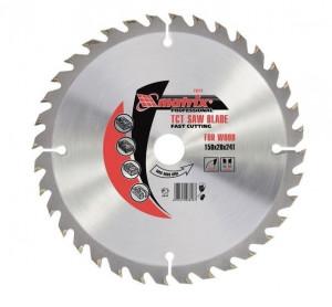 Disc taiat lemne, 190 х 20 mm, 48 dinti, bucsa 16/20 MTX