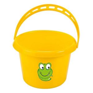Galetuta din plastic pentru copii KIDS GARDEN - culoare galbena, Stoker