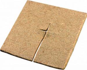 Patrat din fibra de nuca de cocos, pentru mulcire, 55 x 55 cm, 600 gr/m², Stoker