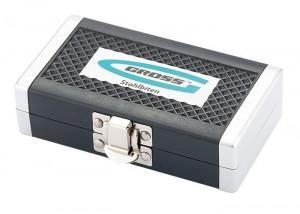 Set biti, adaptor magnetic, 32 piese in cutie de plastic GROSS Germania
