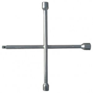 "Cheie cruce pentru roti 17 х 19 х 21 mm, pentru patrat 1/2"", grosime 14 mm, SibrTech"
