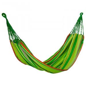Hamac bumbac, 200x100 cm, verde Camping, Palisad