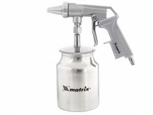 Pistol pneumatic pentru nisip cu rezervor in partea de jos// MTX Profesional
