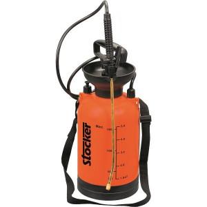 Pompa manuala de presiune cu rezervor de 5 litri, manometru si pulverizator de 1 litru, Stoker