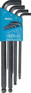 Set chei locas hexagonal Stubby 1,5-10,0 mm/9 piese Eklind 1,5-10,0 / 9 piese