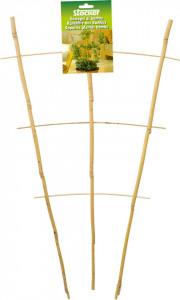Spalier din bambus pentru plante la ghiveci, 38 x h 60 cm, Stoker