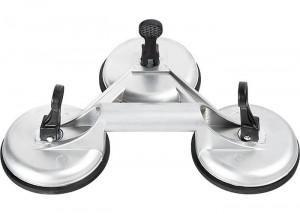 Ventuza tripla pentru geamuri, pri vacuum, din aluminiu, MTX Matrix