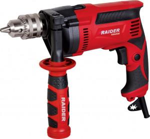 Masina de gaurit profesionala cu percutie, 710 W, turatie reglabila, Raider Power Tools Industrial