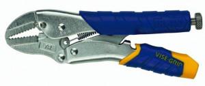 Cleste blocare cu falci curbate si maner bimaterial Fast Release™(250 mm/48 mm)