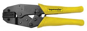 Cleste pentru sertizare papuci, 0.5-4 mm AWG, Topmaster Profesional