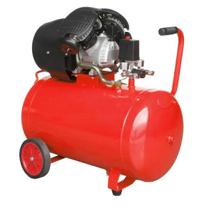 Compresor cu piston CA 3-100L-2, 2 cilindri in V, putere 2.2Kw/3CP, butelie 100 L, presiune maxima 8 bari, volum aer aspirat 316 L, Breckner Germany