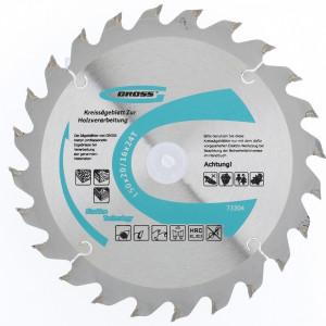 Disc taiat lemne, 150x20/16x24T, Gross