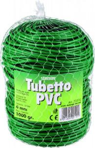 Fir din plastic Tubetto (PVC) moale pentru legat, Ø 4 mm, 1.000 gr, Stoker