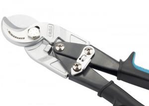 """Foarfece pentru taiere cablu """"Pirahna"""", 240 mm, maner doua componente, diametru cablu pana la 14 mm, Gross"""