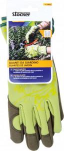 Manusi de gradina femei, masura 8/S, culoare verde deschis, Stoker