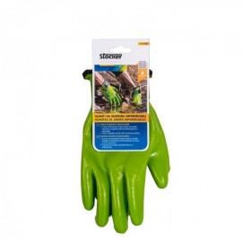 Manusi de gradina impermeabile, negru/verde, 11/XL, Stocker