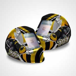 Masca de sudura cu cristale lichide 4 Senzori BUMBLE-BEE, Intensiv