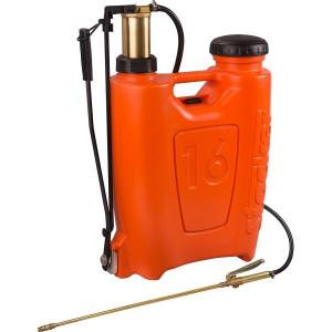 Pompa manuala de presiune, tip rucsac 16 litri, cu piston si lance din bronz, Stoker