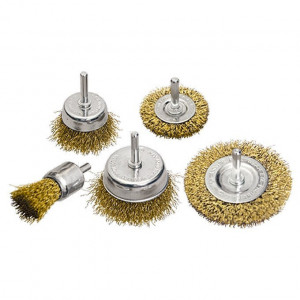 Set perii p/u bormasina,5 buc., 2 buc. plate 50-75 mm+3 buc.,cupa 25-50-75 mm+cozi,sarma-otel// MTX Profesional