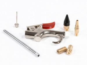 Set pistol pneumatic de epurare cu 6 accesorii, MTX Profesional