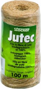 Fir biodegradabil din fibra de iuta 100% Jutec, 100 m, Stoker