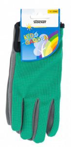 Manusi de gradina pentru copii KIDS GARDEN - culoare verde, Stoker