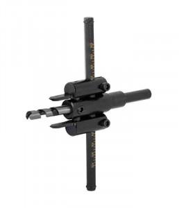 Carota reglabila pana la 120 mm. pentru gaurire lemn, Raider Power Tools