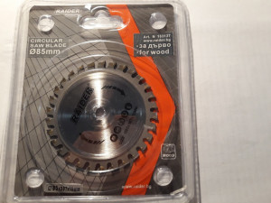 Disc circular taiere lemn, 85 x 10 mm, 30 dinti, Raider Power Tools