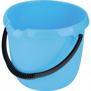 Galeata rotunda , plastic, 12 L, albastra//ТМ Elfe /RUSIA