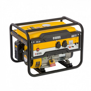 Generator pe benzina PS 25, 2,5 kW, 230V, 15 l, demaror manual, Denzel