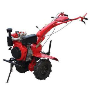 Motocultor diesel MT 10-120-D, 2+1 viteze, 10 CP, latime lucru 120 cm, roti de cauciuc si freze incluse, 153 kg, Breckner