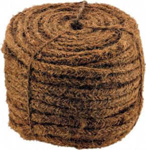 Sfoara organica din fibra de nuca de cocos 100% biodegradabila, 7 fire, 20 mm x 100 m, Stoker