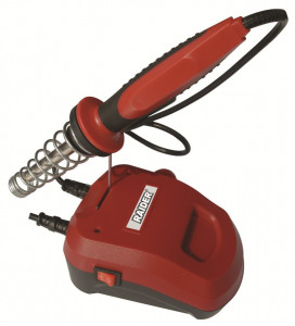 Statie de lipit circuite electronice, 40 W x 600 grade, Raider Power Tools