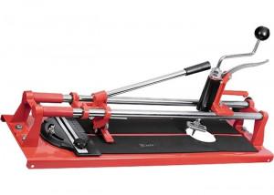 Aparat de taiat gresie si faianta, 600 x 16 mm, dispozitiv de taiat gauri, reglare unghi MTX
