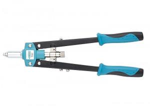 Cleste pop-nituri 420 mm, mânere cu două componente, pentru nituri 2.4-3.2-4.0-4.8 Gross