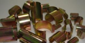 Clipsuri metalice pentru prinderea foliei, Politiv