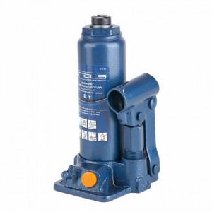 Cric hidraulic tip butelie, telescopic 2 t, H 181-345 mm, trusa plastic// STELS