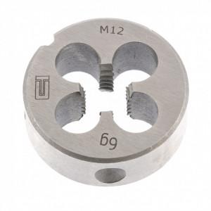 Filiere pentru prelucrarea manuală a filetelor exterioare, M5 - M12, SiberTeh