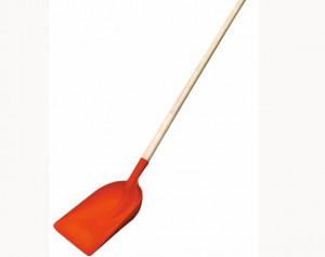 Lopata de polipropilena pentru zapada si cereale cu coada de lemn, Stoker