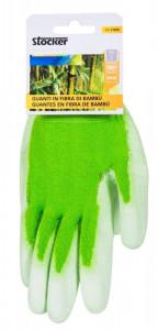 Manusi de gradina Bamboo 8/S - culoare verde, Stoker