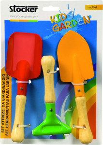 Set unelte de gradina pentru copii KIDS GARDEN, Stoker