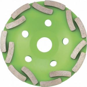 Disc diamant pentru slefuit in forma de cupa 125x22.2 mm, SIBRTECH