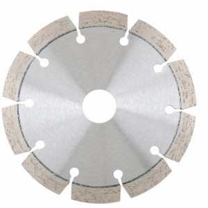 Disc diamantat, segmentat cu laser, taiere uscata, 180 x22.2 mm, Gross