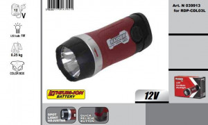 Lanterna LED 12V pt. RDP-CDL03L ,fara acumulator, Raider