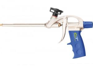 Pistol pentru silicon, carcasa din aluminiu armat, Sibrtech