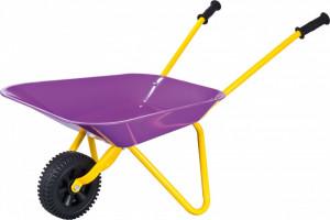 Roaba mica pentru copii KIDS GARDEN - culoare mov/galben, Stocker