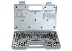 Set filiere si tarozi, M3-M12, 31 piese MTX Master