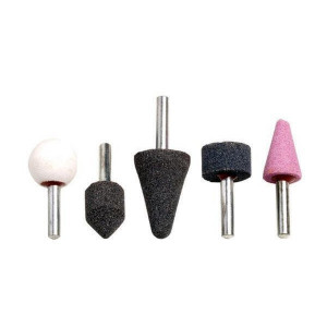 Set pietre slefuit pentru bormasina sau biax 5 buc Raider Power Tools