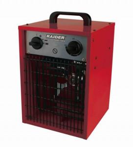 Aeroterma electrica, 3.3 KW, 150 M3/H, 3 trepte calorice, Raider Power Tools