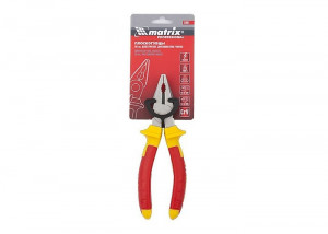 Cleste combinat, 1000 V, Insulated, 160 mm, manere doua componente, MTX Profesional